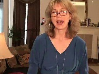 Wife Olive Jones Rubs Her Hairy Twat