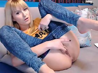 Horny Homemade Movie With Blonde Webcam Scenes